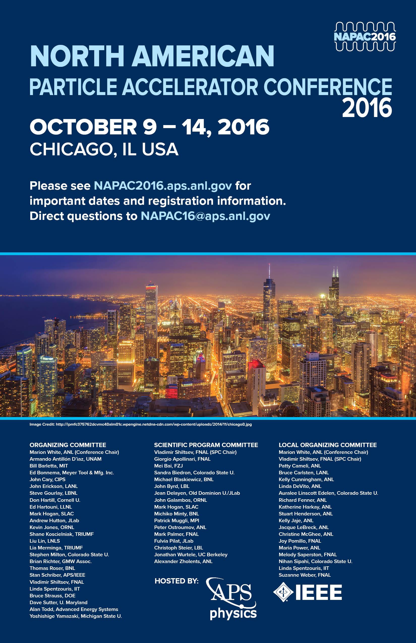 NAPAC16 poster